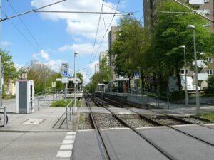 U-Bahn Station Stuttgart Giebel