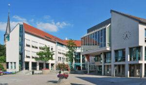 Ditzingen Rathausplatz