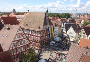 Schäferlauf Markgröningen Marktplatz