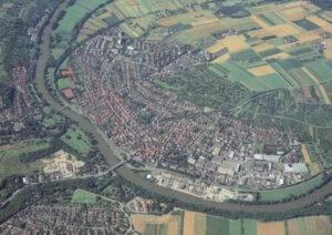 Luftbild Ludwigsburg Neckarweihingen