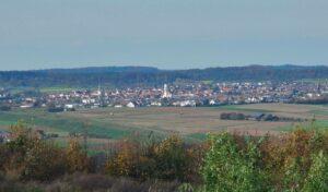 Ausblick auf Rutesheim